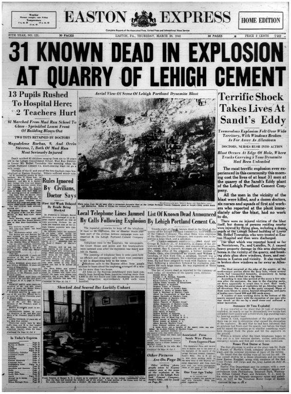 HEADLINE EXPRESS 3-26-1942